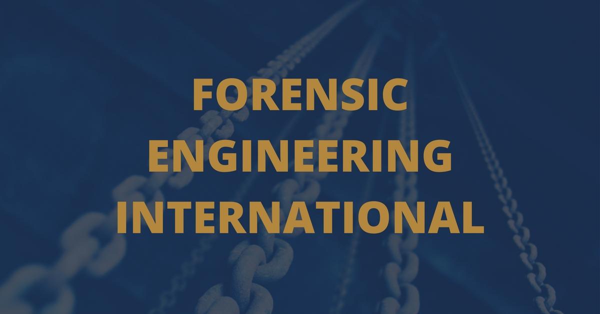 Forensic Engineering International | Material Science